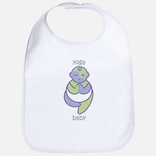 Yoga Baby : Purple & Green Bib