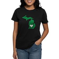 Green Michigan Tee