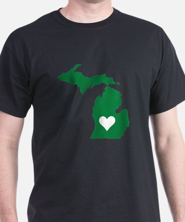 Green Michigan T-Shirt