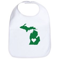 Green Michigan Bib