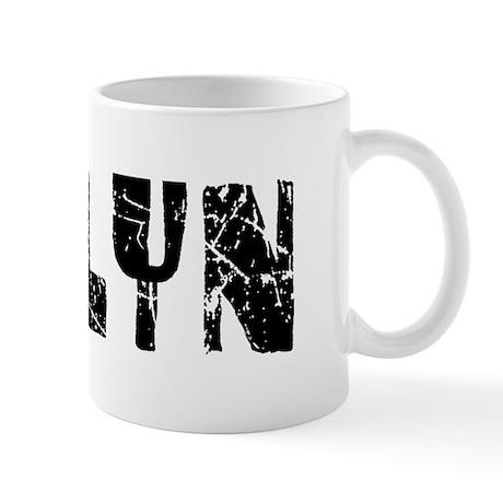 Jaelyn Faded (Black) Mug