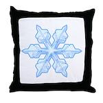 Flurry Snowflake VI Throw Pillow