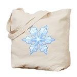 Flurry Snowflake VI Tote Bag