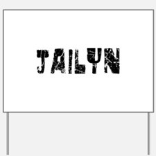 Jailyn Faded (Black) Yard Sign
