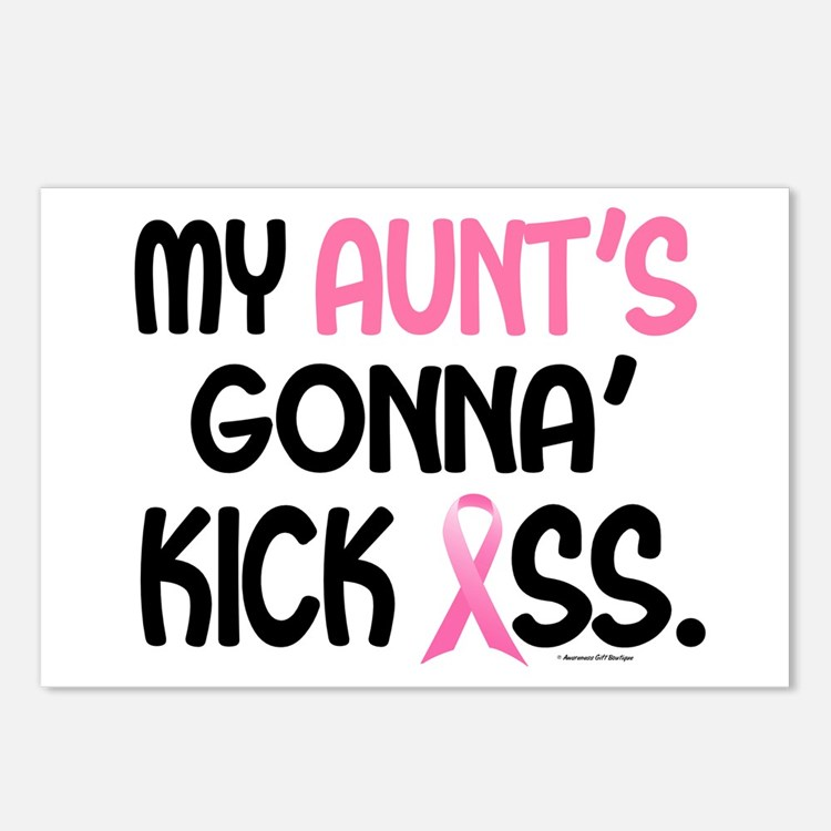 Gonna' Kick Ass 1 (Aunt) Postcards (Package of 8)