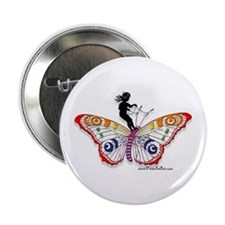 """Fairy & the Butterfly 2.25"""" Button (10 pack)"""