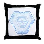 Flurry Snowflake IV Throw Pillow