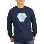 Flurry Snowflake IV Long Sleeve Dark T-Shirt