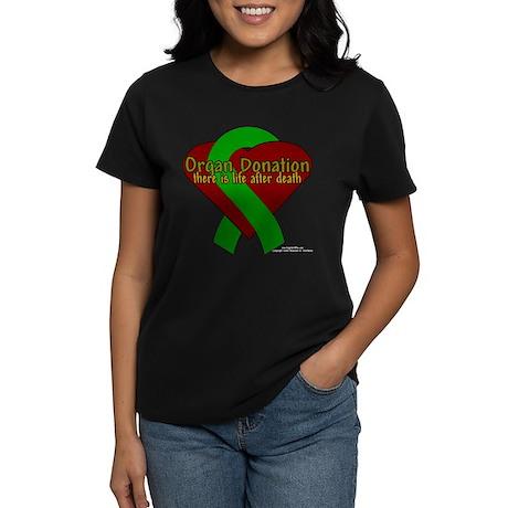 Organ Need Awareness Women's Dark T-Shirt