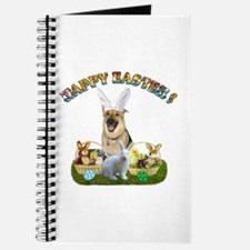 GSD Easter Bunny Journal