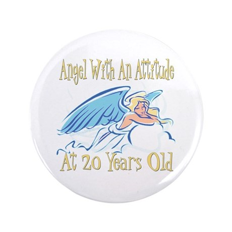 "Angel Attitude 20th 3.5"" Button (100 pack)"