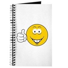 Thumbs Up Smiley Face Journal
