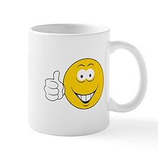 Thumbs Up Smiley Face Mug