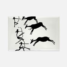 Cute Cave painting Rectangle Magnet