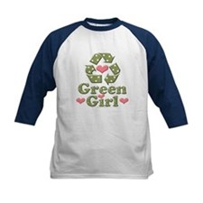 Green Girl Recycling Recycle Tee