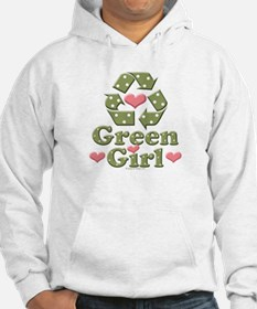 Green Girl Recycling Recycle Jumper Hoody