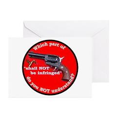Infringement Greeting Cards (Pk of 20)