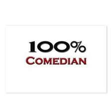 100 Percent Comedian Postcards (Package of 8)