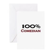 100 Percent Comedian Greeting Cards (Pk of 10)
