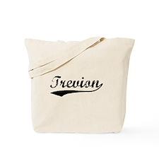 Vintage Trevion (Black) Tote Bag