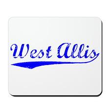 Vintage West Allis (Blue) Mousepad