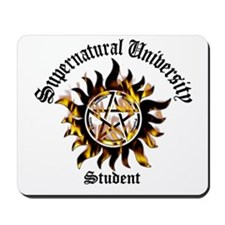 Supernatural University Student Mousepad