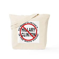 Anti-Hillary White House Tote Bag