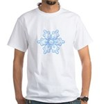 Flurry Snowflake I White T-Shirt