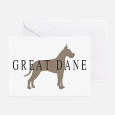 great dane greytones Greeting Cards (Pk of 20)