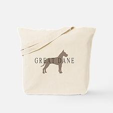 great dane greytones Tote Bag