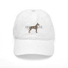 great dane greytones Baseball Cap