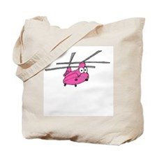 CH-47 Pink Tote Bag