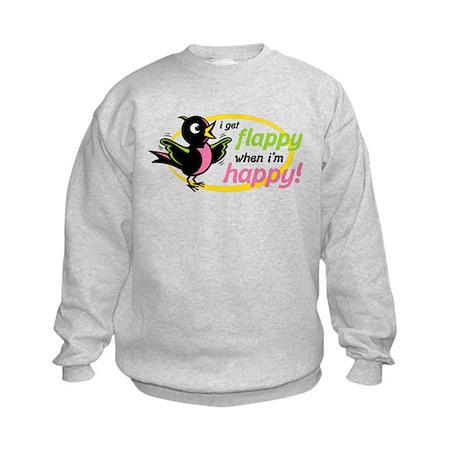 Flappy/Happy (GP) Kids Sweatshirt
