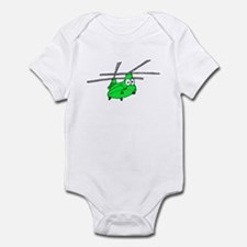 CH-47 Green Infant Bodysuit