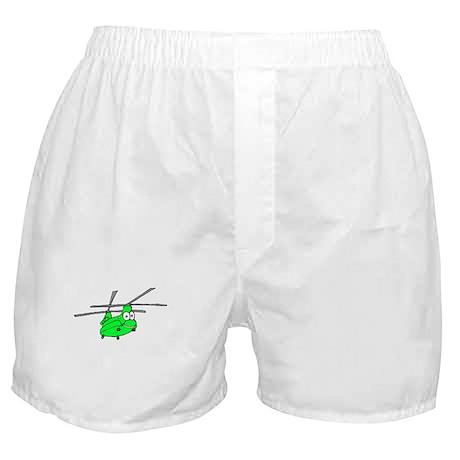 CH-47 Green Boxer Shorts
