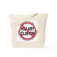 Anti-Hillary Old Politics Tote Bag