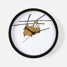 CH-47 Tan Wall Clock