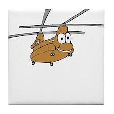 CH-47 Tan Tile Coaster
