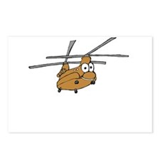 CH-47 Tan Postcards (Package of 8)