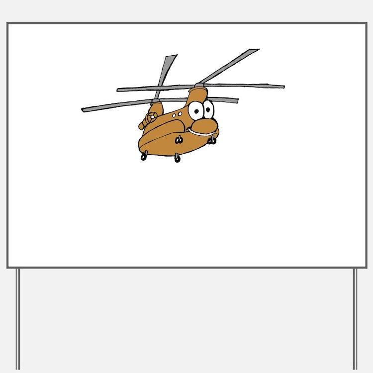 CH-47 Tan Yard Sign