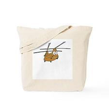 CH-47 Tan Tote Bag