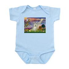 Cloud Angel / Westie Infant Bodysuit