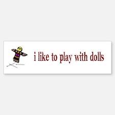 Voodo Doll Bumper Bumper Bumper Sticker