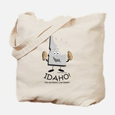 Cute Idaho potatoes Tote Bag