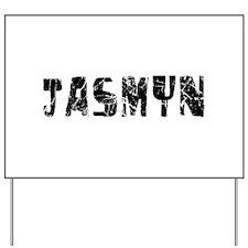 Jasmyn Faded (Black) Yard Sign