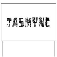 Jasmyne Faded (Black) Yard Sign