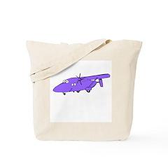 C-23 Purple Tote Bag