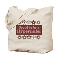 Proud Hypermiler brown Tote Bag