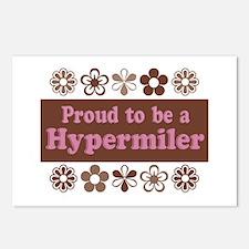 Proud Hypermiler brown Postcards (Package of 8)