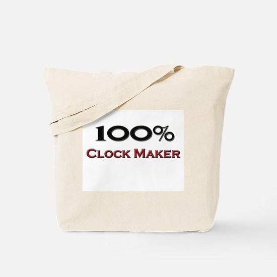 100 Percent Clock Maker Tote Bag